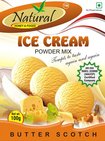 Natural foods we are a renowned manufacturer exporter importer icecream mix butterscotch ccuart Images