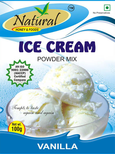 Natural foods we are a renowned manufacturer exporter importer icecream mix vanilla ccuart Images