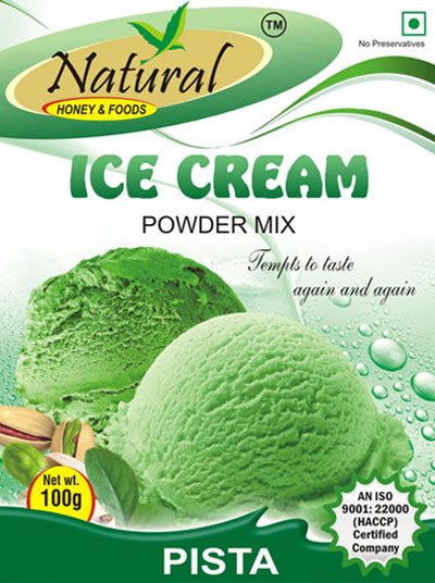 Natural foods we are a renowned manufacturer exporter importer icecream mix pista ccuart Images